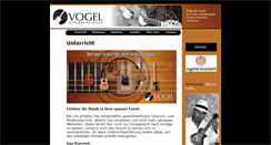 Preview of gitarrenschule-vogel.de