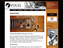 Tablet Preview of gitarrenschule-vogel.de